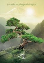 RAVENSBURGER 19389 - ZEN, Strom života 1000 dílků