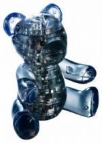 HCM KINZEL 3D Crystal - Černý medvídek 41 dílků