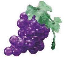 HCM KINZEL 3D Crystal - Hroznové víno (fialové) 46 dílků