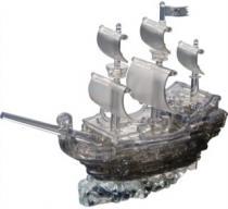 HCM KINZEL 3D Crystal - Pirátská loď 101 dílků