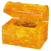 HCM KINZEL 3D Crystal - Pokladnička truhla s klíčem 52 dílků