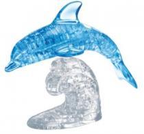 HCM KINZEL 3D Crystal - Skákající delfín 95 dílků