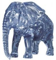 HCM KINZEL 3D Crystal - Slon 40 dílků