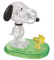 HCM KINZEL 3D Crystal - Snoopy & Woodstock