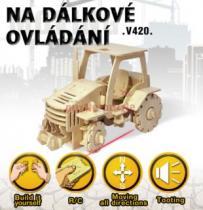 ROBOTIME 3D Traktor RC V420