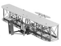 METAL EARTH 3D kovové Letadlo bratrů Wrightových