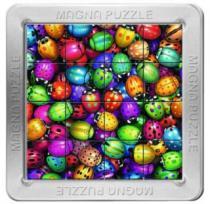 PIATNIK 3D magnetické 16 dílků - Berušky