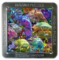 PIATNIK 3D magnetické 16 dílků - Chameleoni
