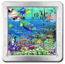 PIATNIK 3D magnetické 16 dílků - Korálový útes