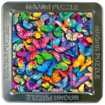 PIATNIK 3D magnetické 16 dílků - Motýli