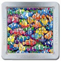 PIATNIK 3D magnetické 16 dílků - Rybičky - Klauni