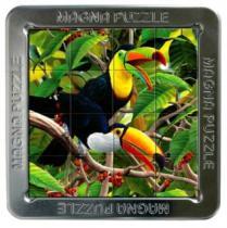 PIATNIK 3D magnetické 16 dílků - Tukani