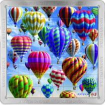PIATNIK 3D magnetické 64 dílků - Balóny