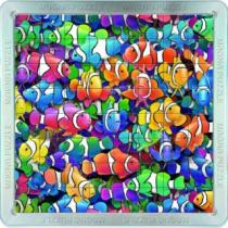 PIATNIK 3D magnetické 64 dílků - Rybičky - klauni