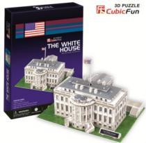 CUBICFUN 3D - Bílý dům 3D, Washington