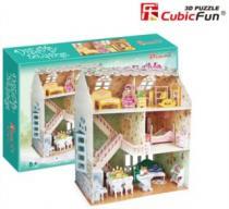 CUBICFUN 3D - Domek snů pro panenky 3D