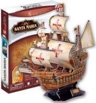 CUBICFUN 3D - Loď Santa Maria 3D