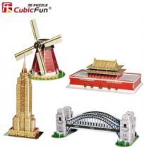 CUBICFUN 3D - Miniarchitektura 3 - Proslulé památky 3D