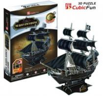 CUBICFUN 3D - Pirátská loď Queen Anne´s Revenge 3D