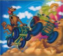 TREFL 3D 210 dílků - Scooby Doo: Čtyřkolky 3D