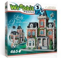 WREBBIT 3D 465 dílků Sídlo Lady Victoria 3D