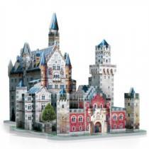 WREBBIT 3D 890 dílků Zámek Neuschwanstein 3D