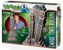 WREBBIT 3D 975 dílků Empire State Building, New York