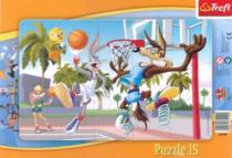TREFL 15 dílků - Bugs Bunny: Basketbal