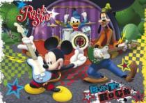 CLEMENTONI - Mickeyho rockový koncert 104 dílků