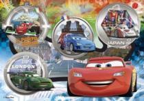 CLEMENTONI - Závodní auta z celého světa 24 dílků