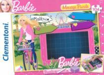 CLEMENTONI - tabulka na vzkazy: Barbie: Napiš zprávu, 104 dílků