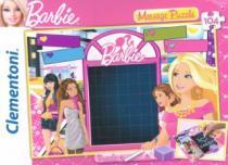 CLEMENTONI - tabulka na vzkazy: Barbie: Zamilovaný vzkaz, 104 dílků