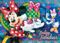 CLEMENTONI - , Minnie a Daisy se krášlí 104 dílků