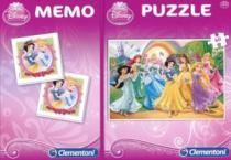 CLEMENTONI Disney princezny, 60 dílků