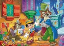 CLEMENTONI 104 dílků - Pinokio