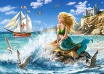 CASTORLAND 108 dílků - Malá mořská víla
