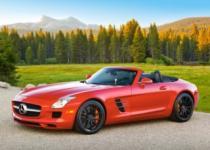 CASTORLAND 120 dílků - Mercedes Benz SLS