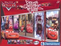 CLEMENTONI 8 x 25 dílků - příběh: Cars (Auta)