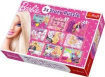 TREFL 9v1 - Barbie, 3 příběhy