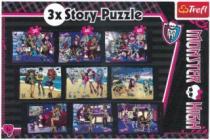TREFL 9v1 - Monster High, 3 příběhy