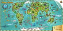 CZUCZU - Dětská mapa světa 60 dílků