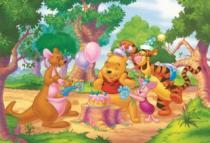 DINO 99 dílků - Medvídek Pú: Narozeniny