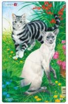LARSEN 10 dílků - Kočky (2)