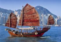 DINO 500 dílků - Čínská plachetnice