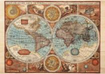 DINO 500 dílků - Mapa světa r. 1626
