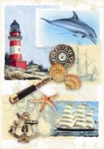 DINO 500 dílků - Námořní nostalgie