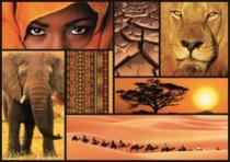EDUCA 16293 Barvy Afriky - 1000 dílků