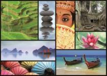 EDUCA 16294 Barvy Asie - 1000 dílků