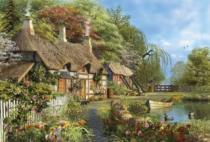 EDUCA 16323 Domov mezi květinami - 4000 dílků, D.Davison