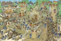 JUMBO 17223 Středověk, Haasteren - 5000 dílků